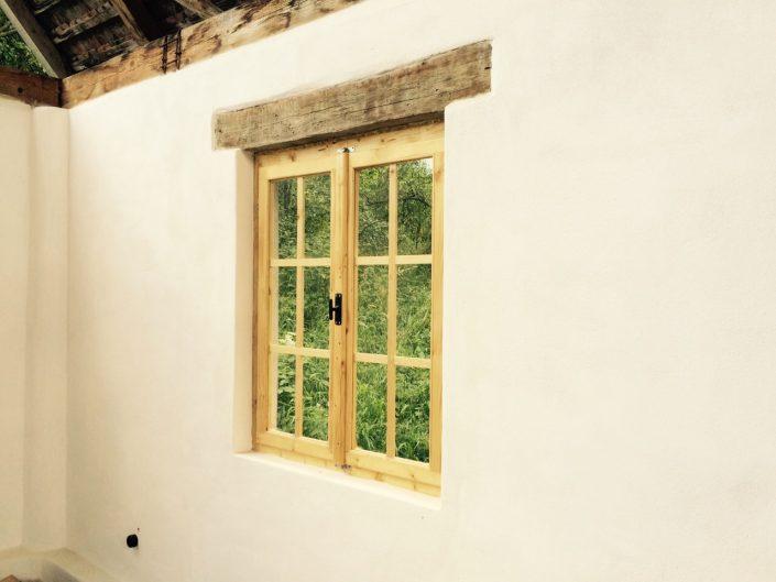 handmade windows by local craftsmen